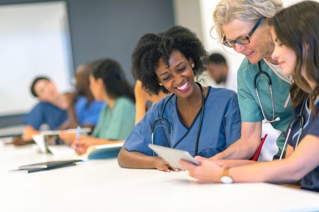 nurses collaborating